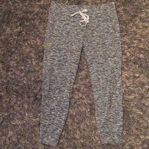Light grey joggers size small